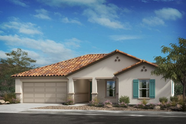 "New Homes in Lancaster, CA - Residence 1430 ""A"" Spanish"