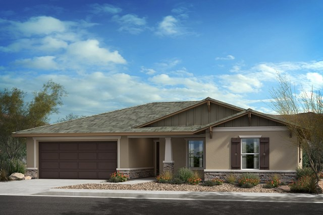 "New Homes in Lancaster, CA - Residence 1430 ""B"" Ranch"
