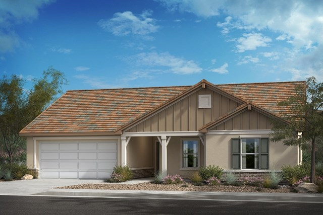 "New Homes in Lancaster, CA - Residence 1430 ""D"" Contemporary Farmhouse"
