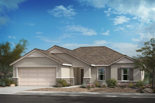 "New Homes in Lancaster, CA - ""C"" Cottage"