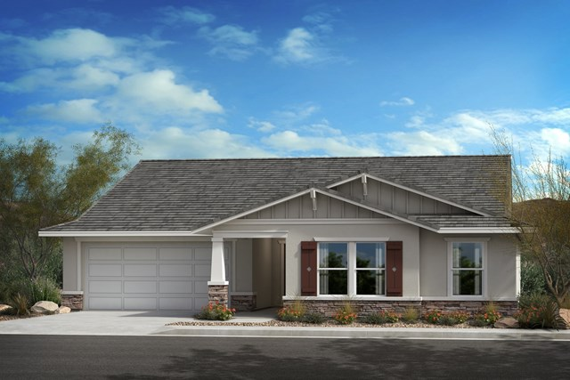 "New Homes in Lancaster, CA - ""B"" Craftsman"