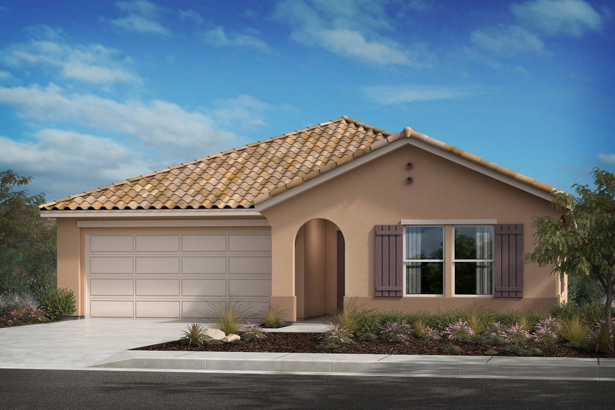 New Homes in Lancaster, CA - Serenade Plan 1392, Elevation A