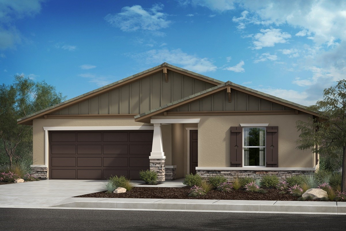 New Homes in Lancaster, CA - Serenade Plan 1392, Elevation B