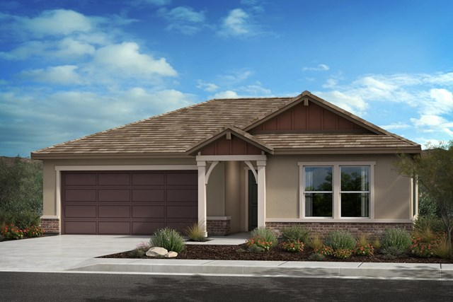 New Homes in Lancaster, CA - Plan 1392 - Farmhouse 'D'