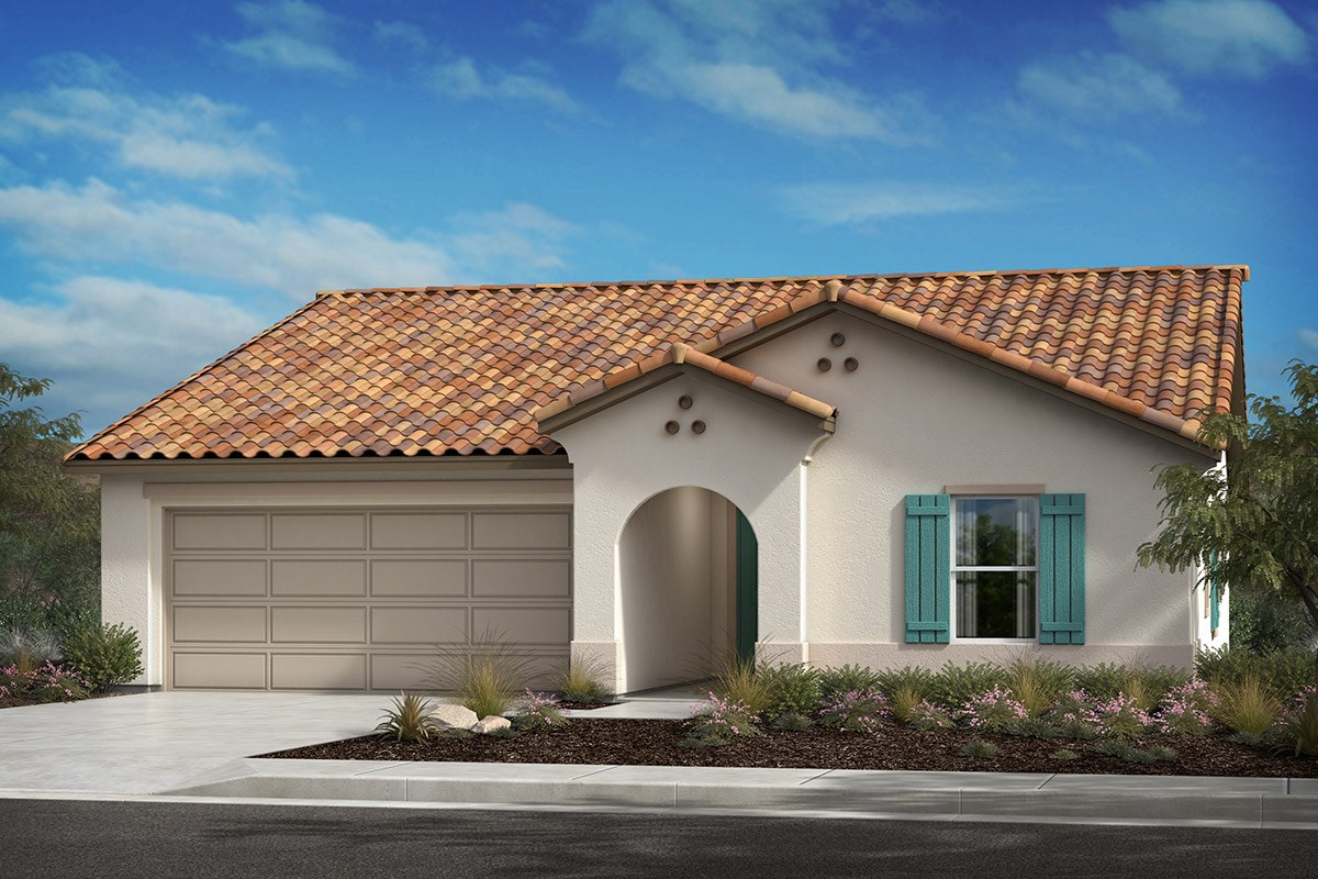 New Homes in Lancaster, CA - Serenade Plan 1551, Elevation A