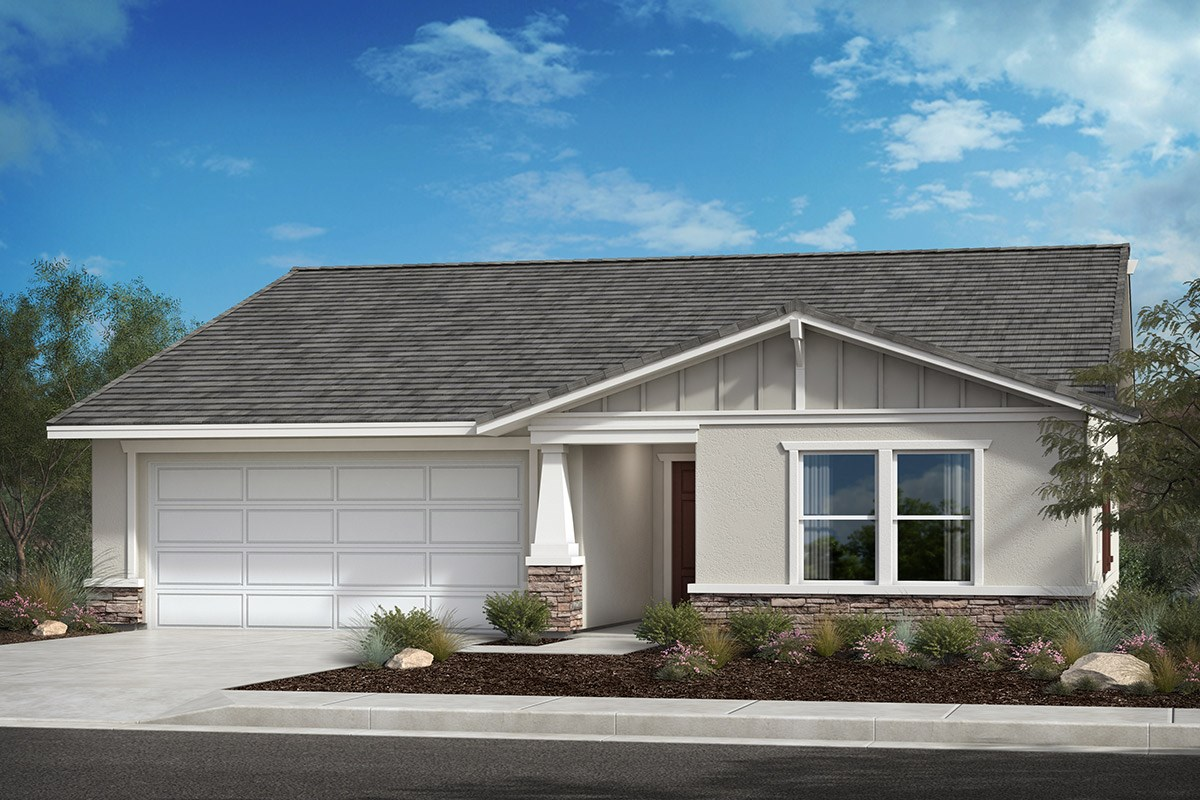 New Homes in Lancaster, CA - Serenade Plan 1551, Elevation B