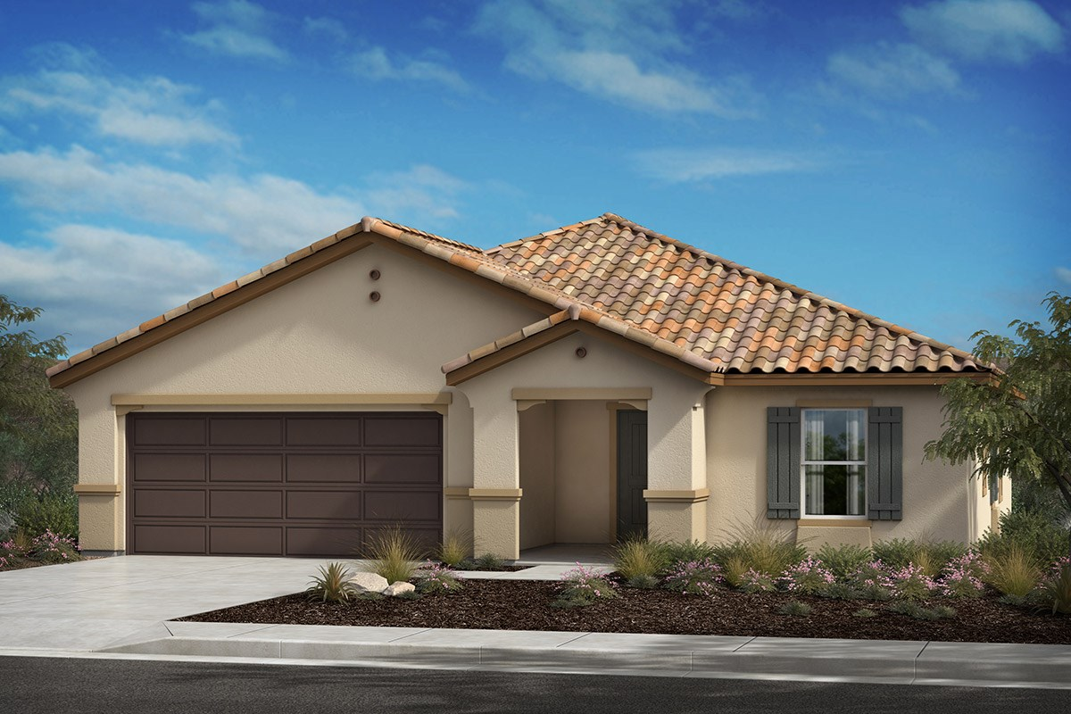 New Homes in Lancaster, CA - Serenade Plan 1736, Elevation A