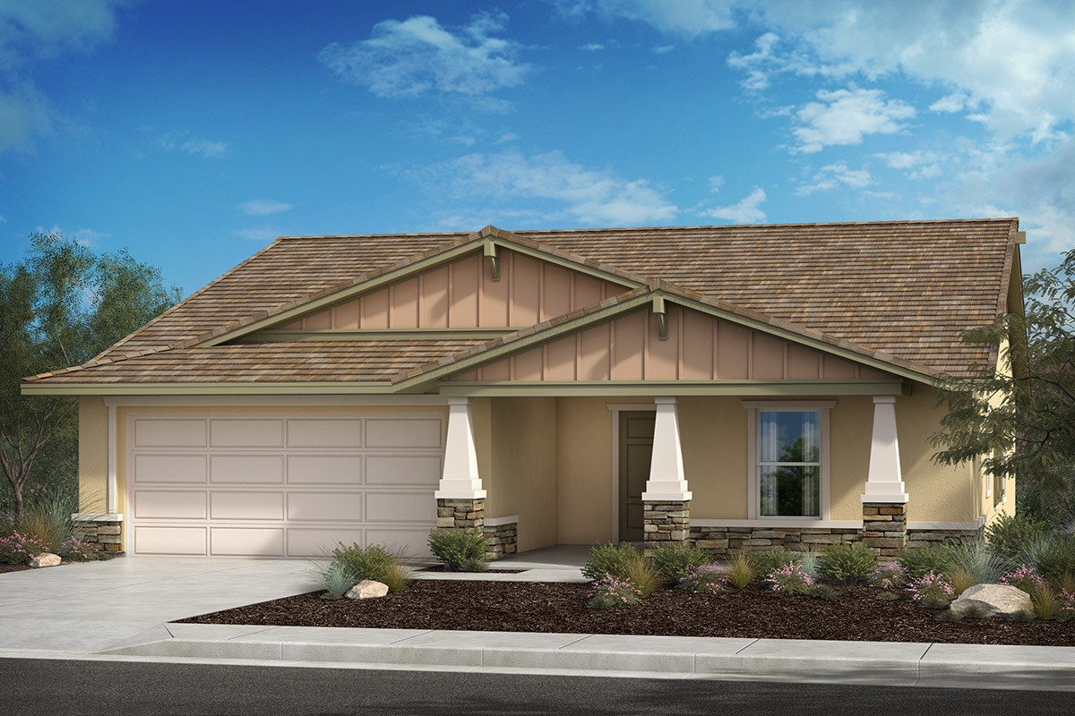 New Homes in Lancaster, CA - Serenade Plan 1736, Elevation B