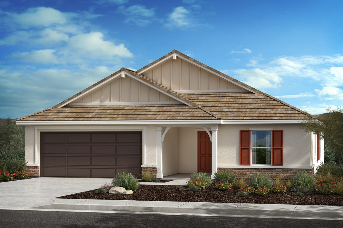 New Homes in Lancaster, CA - Serenade Plan 1736, Elevation D