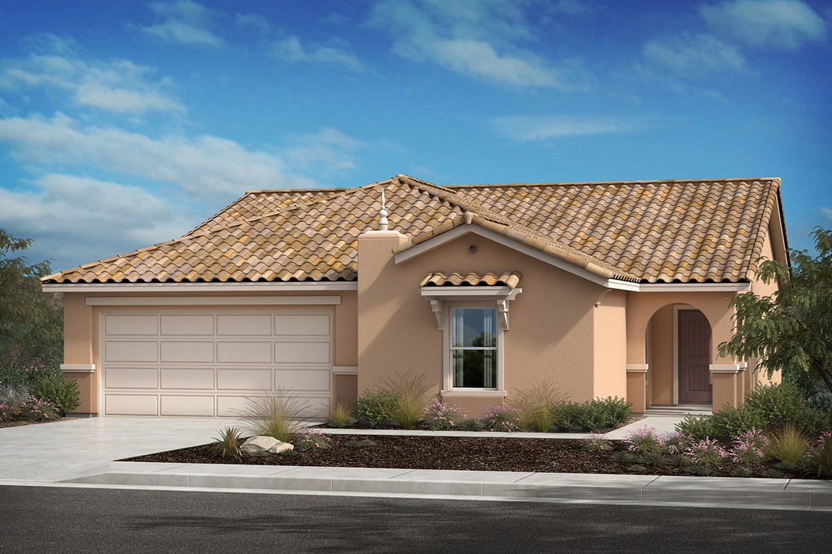 New Homes in Lancaster, CA - Serenade Plan 1886, Elevation A