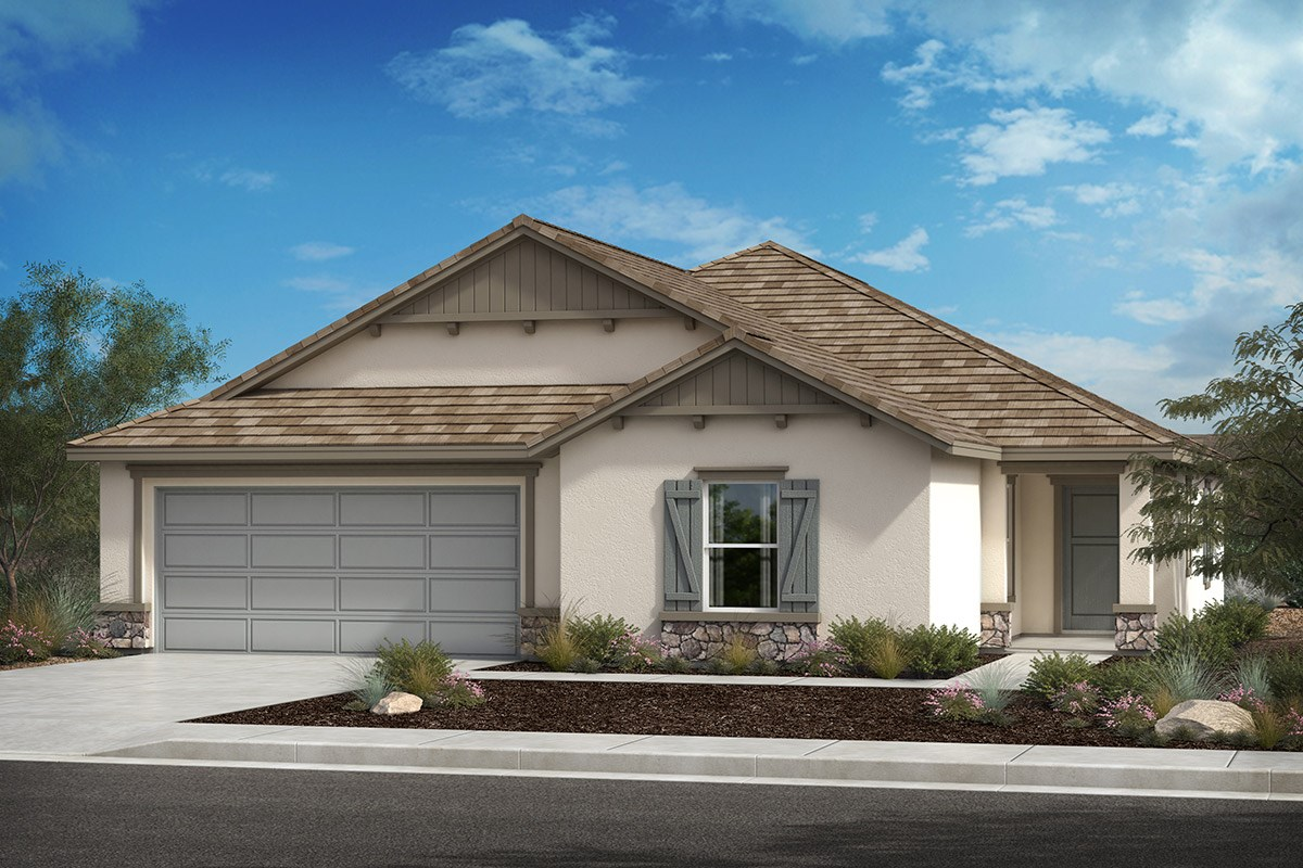 New Homes in Lancaster, CA - Serenade Plan 1886, Elevation C