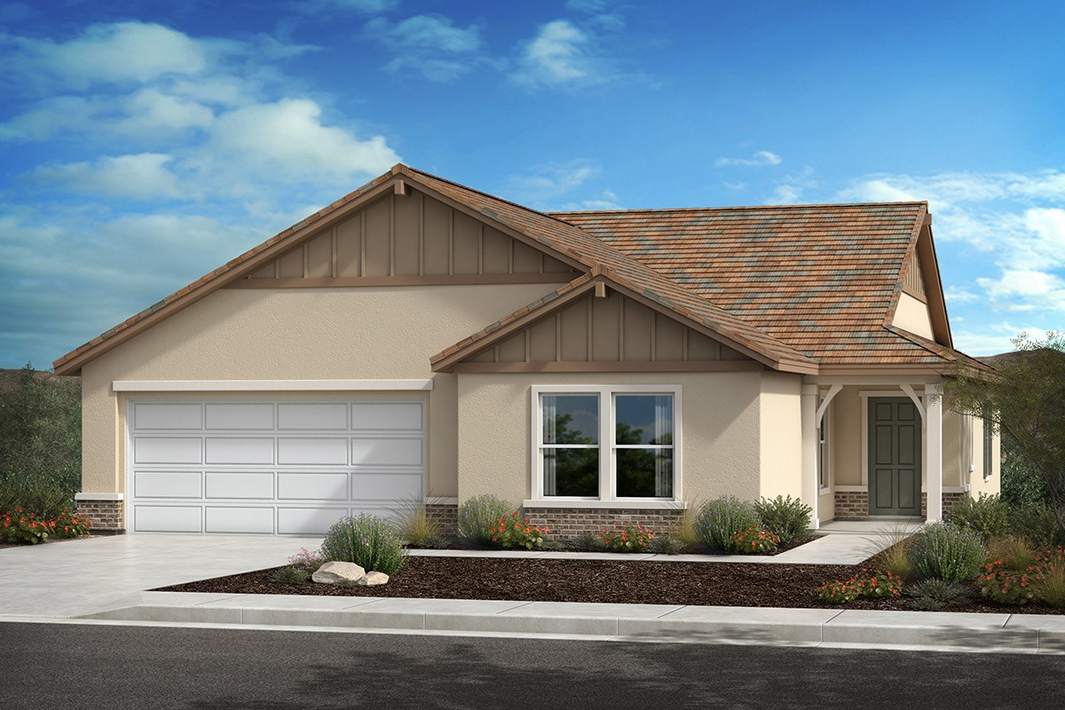 New Homes in Lancaster, CA - Serenade Plan 1886, Elevation D