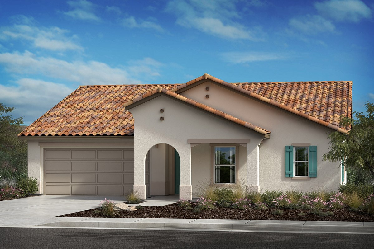New Homes in Lancaster, CA - Serenade Plan 2106, Elevation A