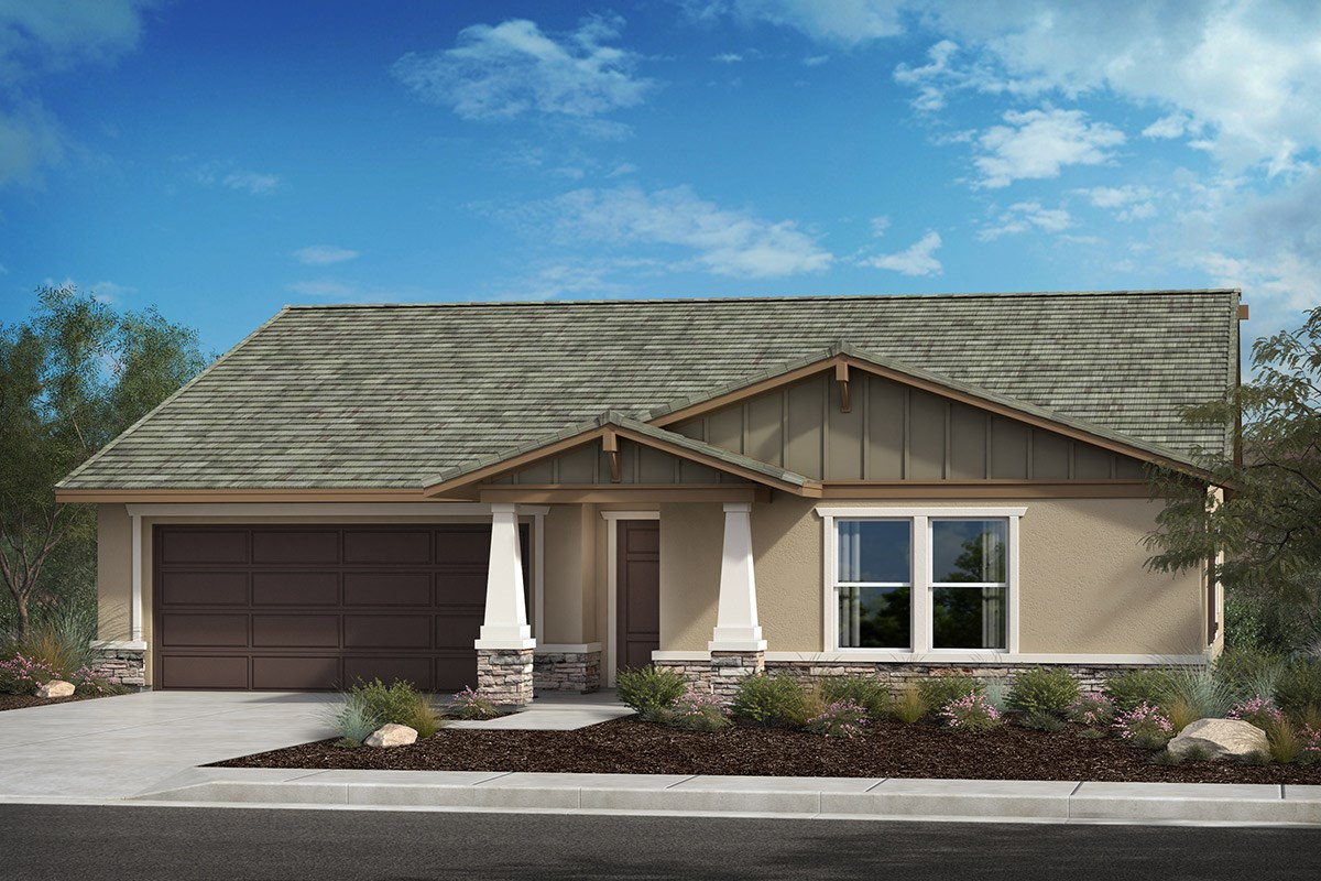 New Homes in Lancaster, CA - Serenade Plan 2106, Elevation B