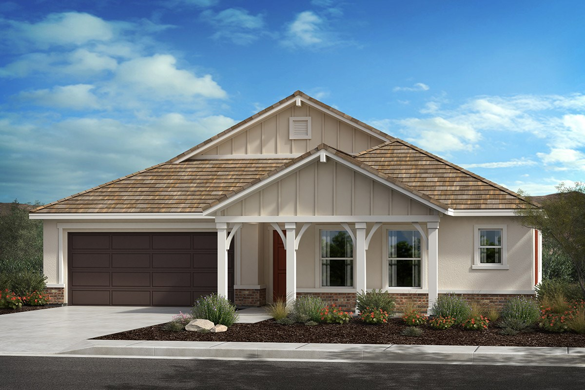 New Homes in Lancaster, CA - Serenade Plan 2106, Elevation C