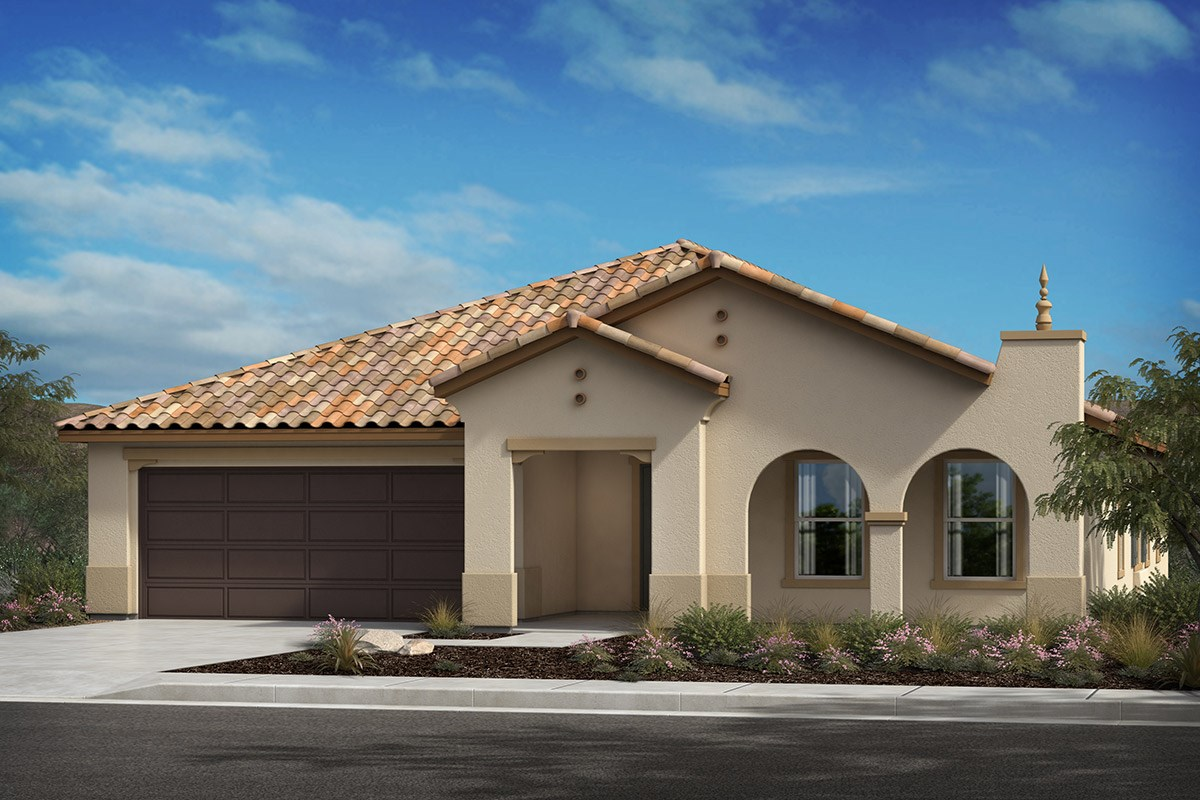 New Homes in Lancaster, CA - Serenade Plan 2379, Elevation A