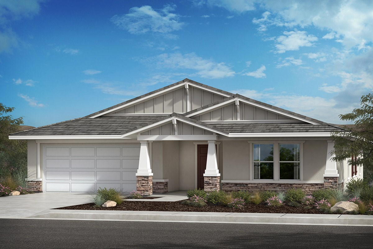 New Homes in Lancaster, CA - Serenade Plan 2379, Elevation B