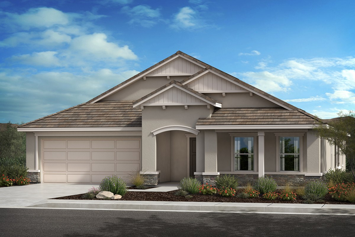 New Homes in Lancaster, CA - Serenade Plan 2379, Elevation C