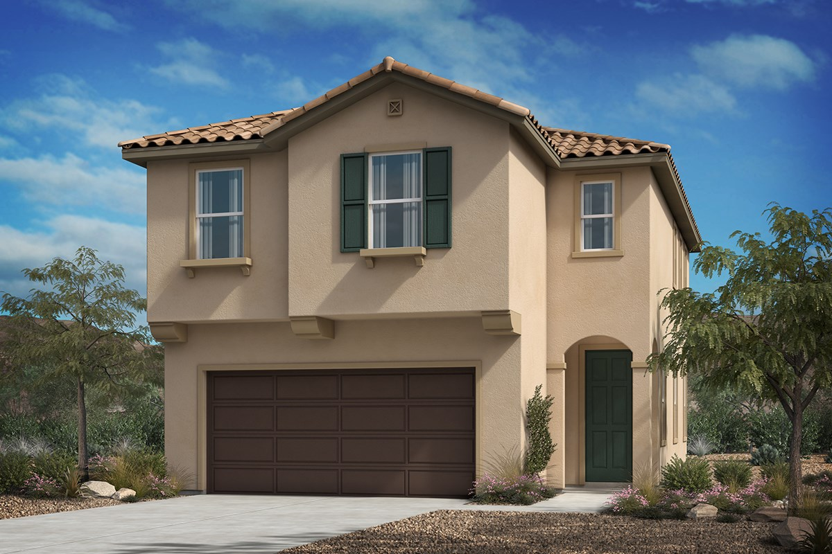 New Homes in Los Angeles, CA - Vista Pointe Residence 1-Spanish'A'