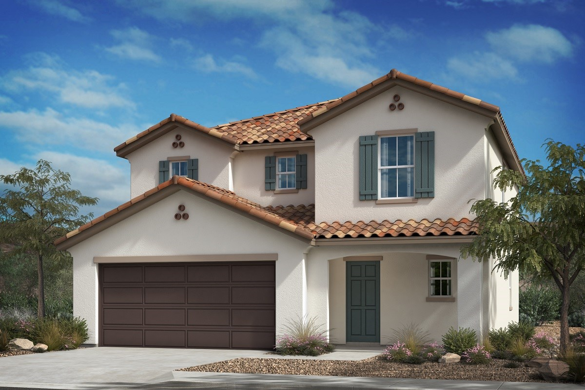 New Homes in Santa Paula, CA - Wildflower at Harvest at Limoneira  Residence 2226 - Spanish A
