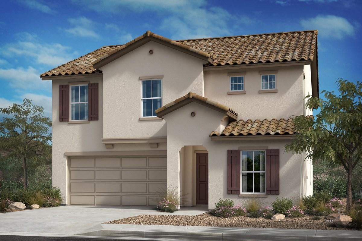 New Homes in Santa Paula, CA - Wildflower at Harvest at Limoneira  Residence 2371 - Spanish 'A'