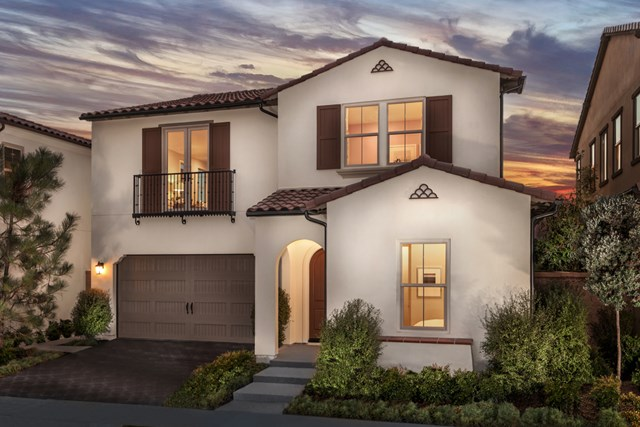Browse new homes for sale in Elderberry at Portola Springs