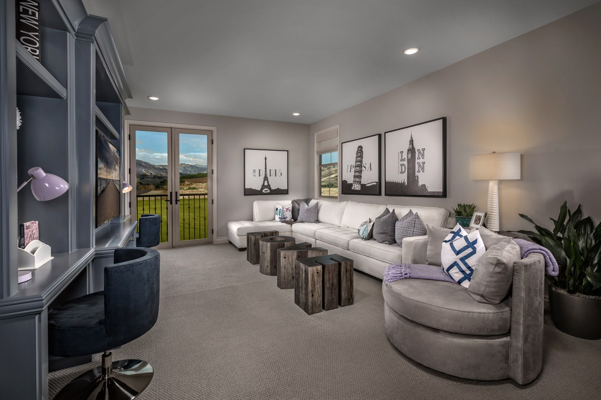 New Homes in Irvine, CA - Elderberry at Portola Springs Residence One Loft