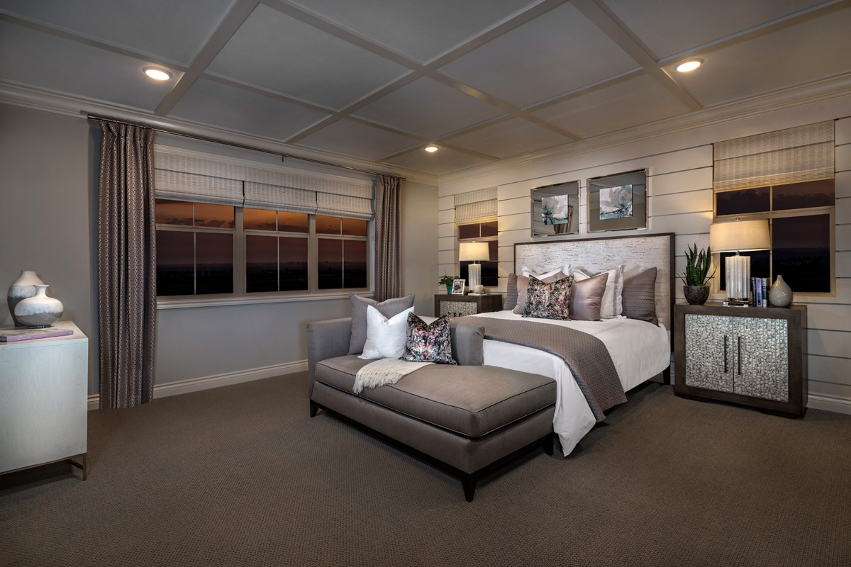 New Homes in Irvine, CA - Elderberry at Portola Springs Residence One Master Bedroom