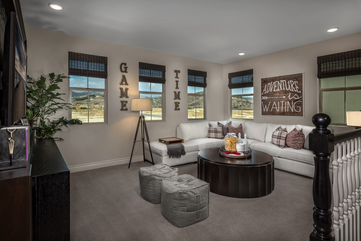 New Homes in Irvine, CA - Elderberry at Portola Springs Residence Two Loft
