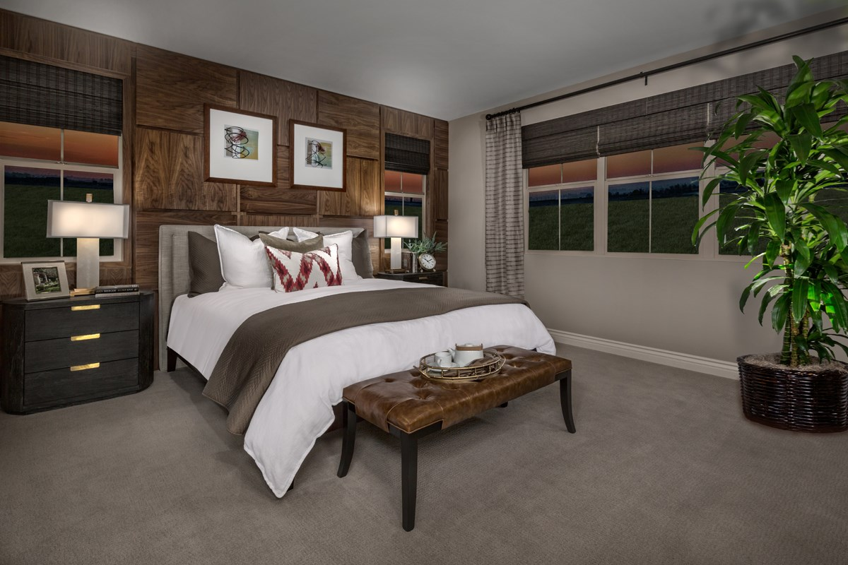 New Homes in Irvine, CA - Elderberry at Portola Springs Residence Two Master Bedroom