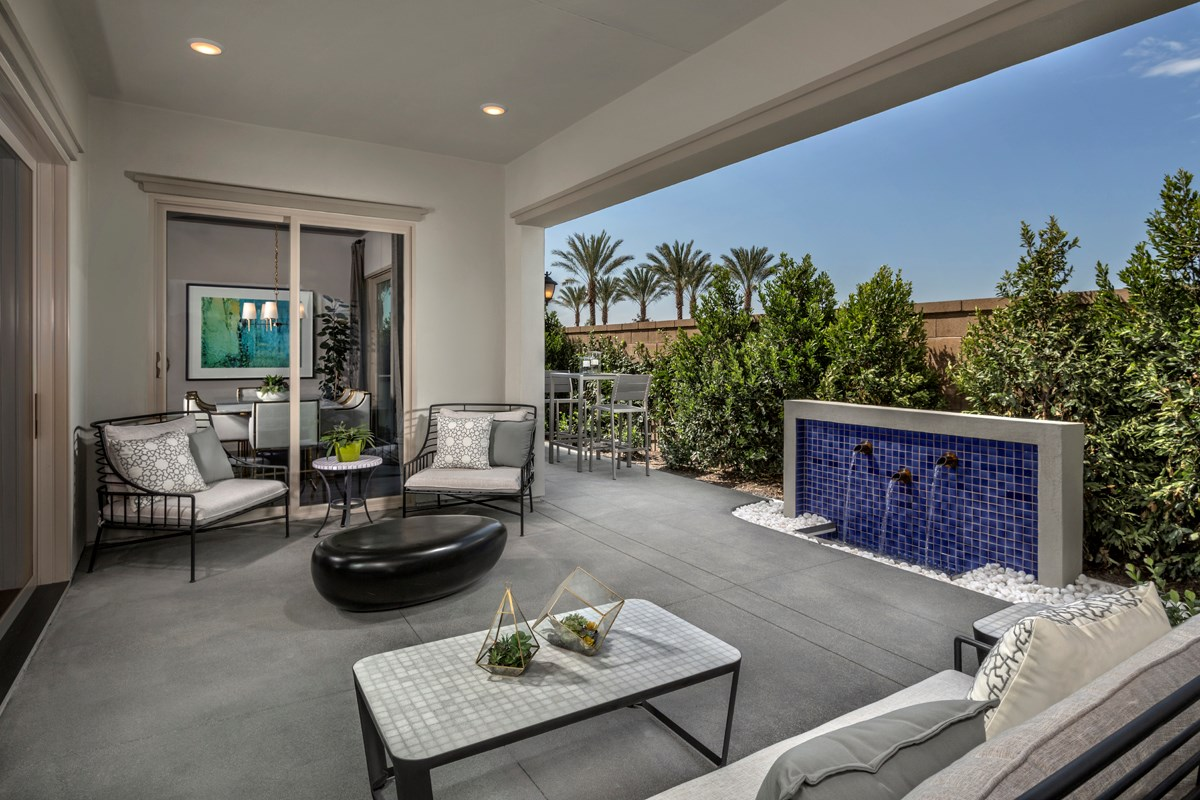 New Homes in Irvine, CA - Elderberry at Portola Springs Residence Three California Room