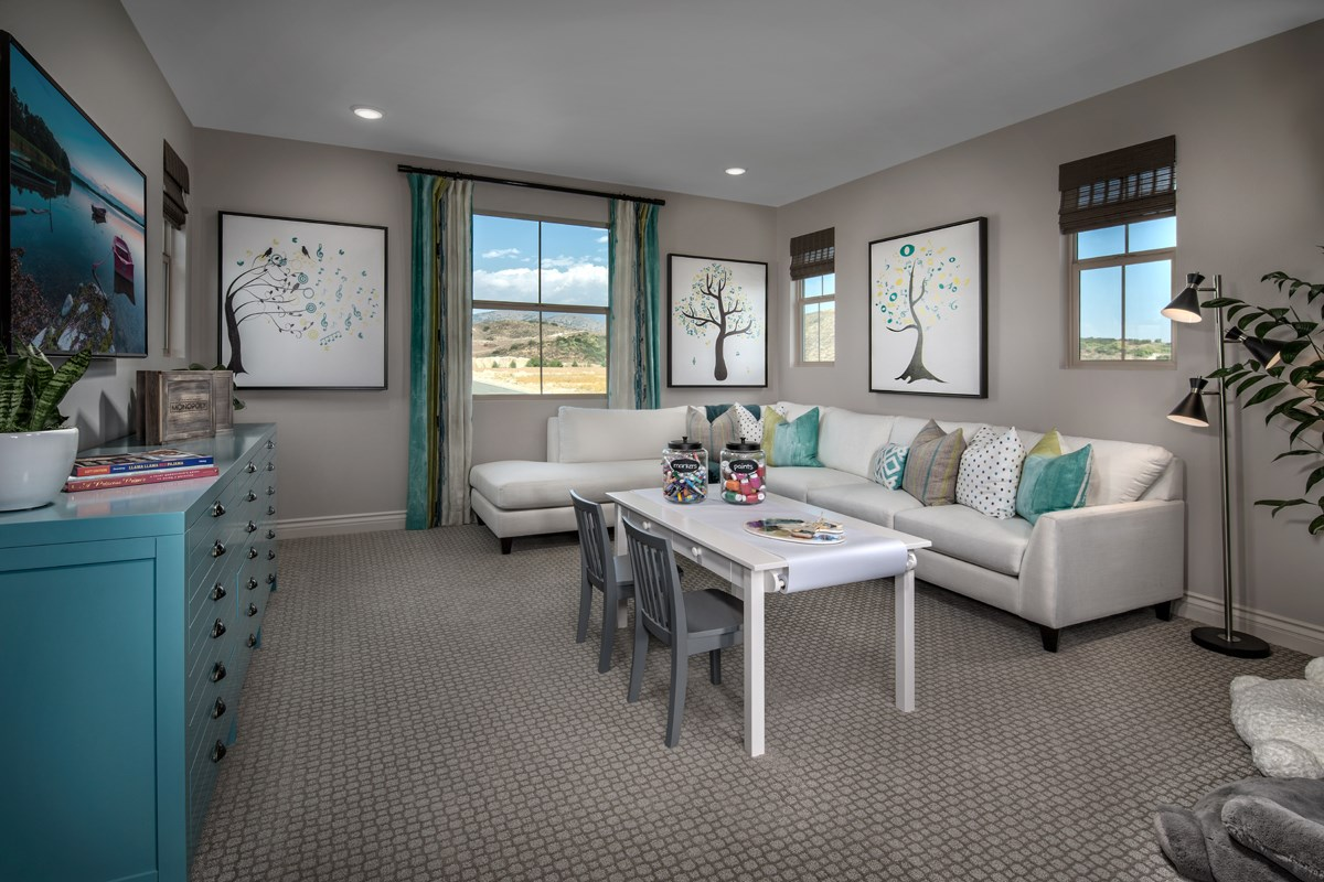 New Homes in Irvine, CA - Elderberry at Portola Springs Residence Three Loft