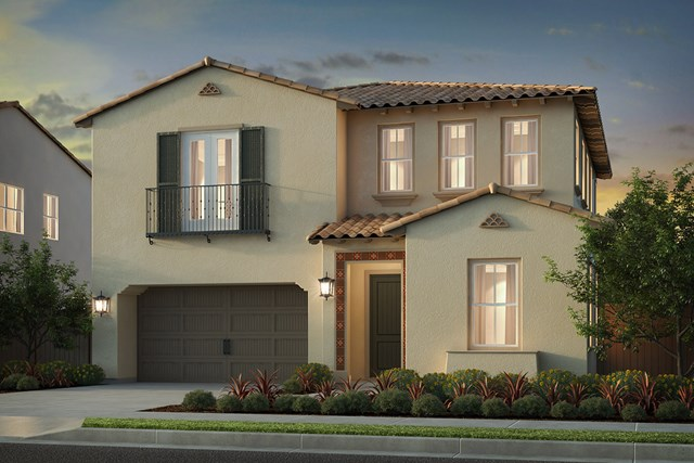New Homes in Irvine, CA - Elevation 'A'