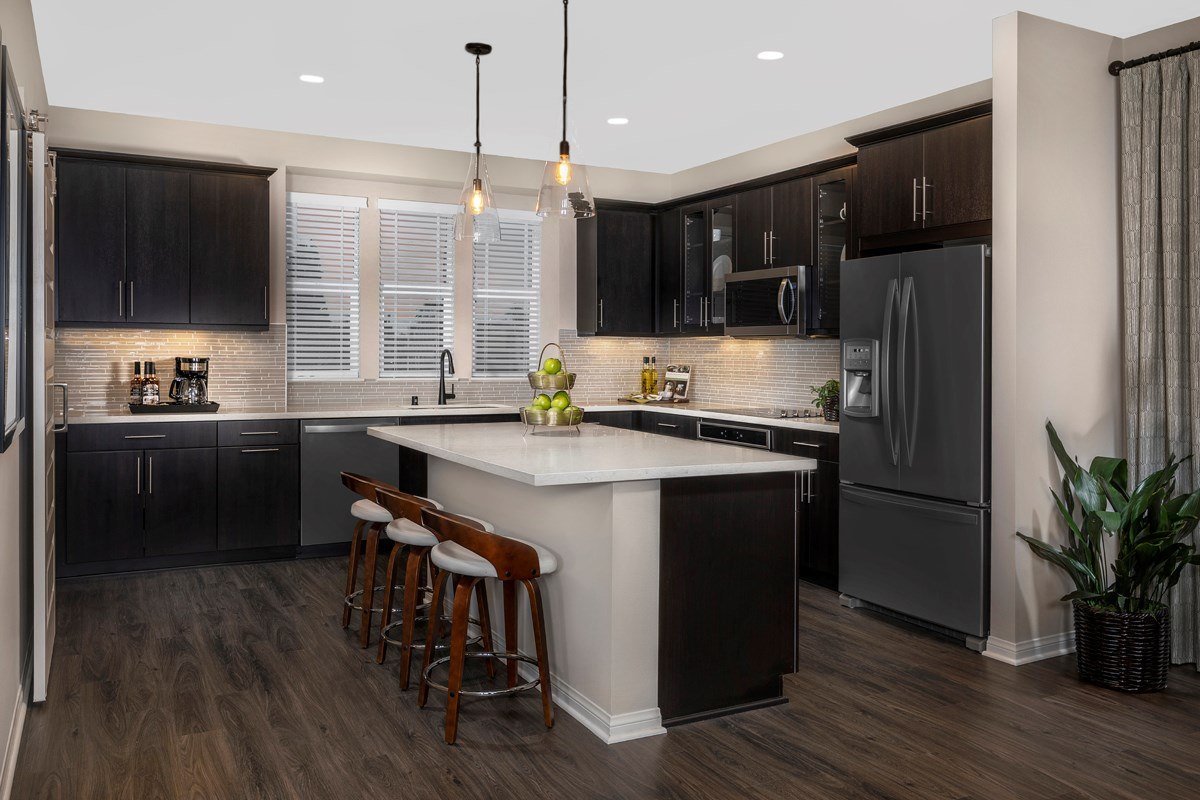 New Homes in Anaheim, CA - Euclid Place Residence 2X Kitchen