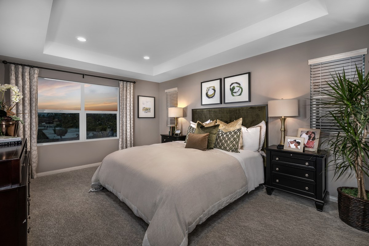 New Homes in Anaheim, CA - Euclid Place Residence 2X Master Bedroom