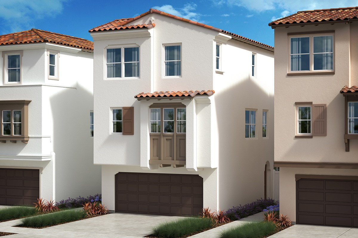 New Homes in Anaheim, CA - Euclid Place Residence 2X 'B'