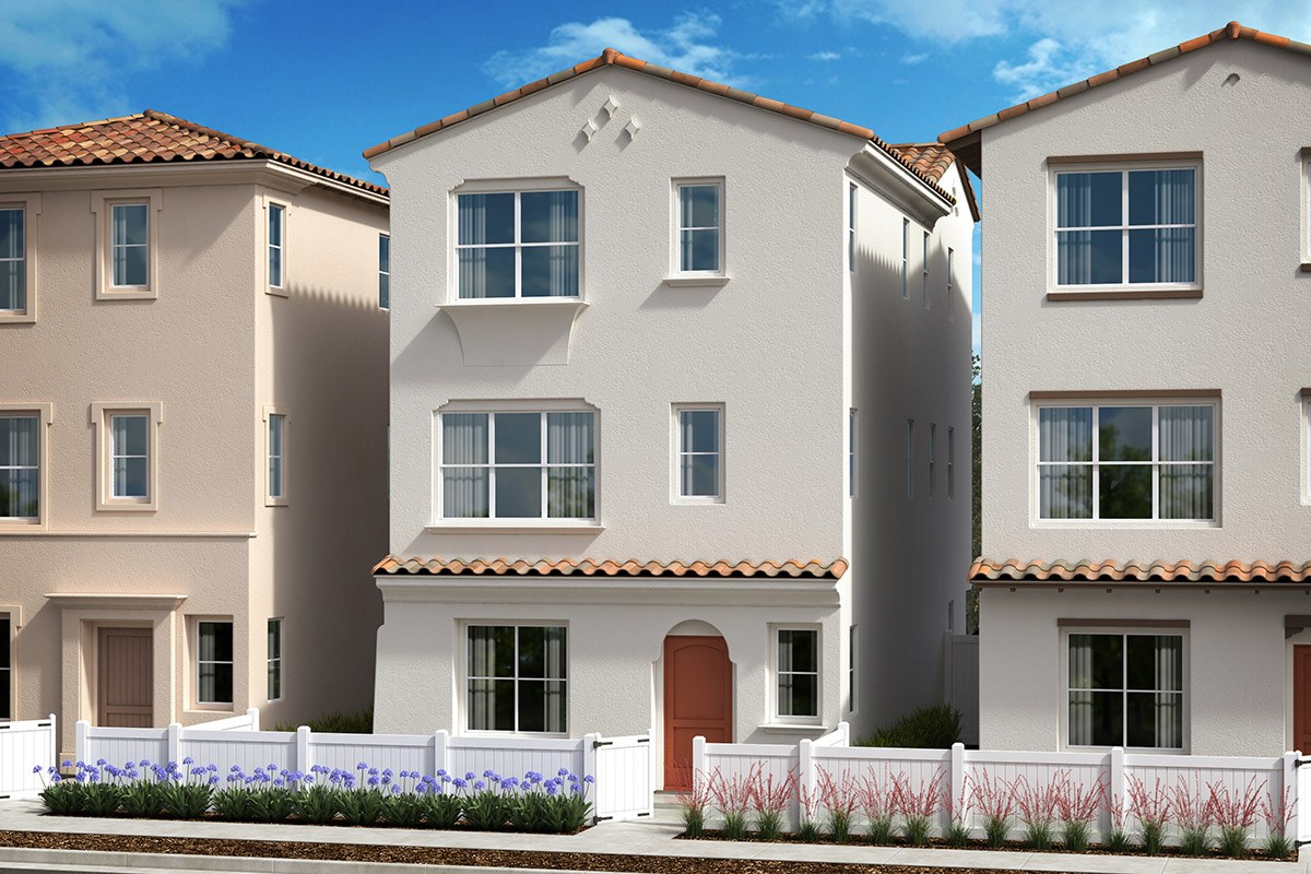 New Homes in Anaheim, CA - Euclid Place Residence 2 'B'
