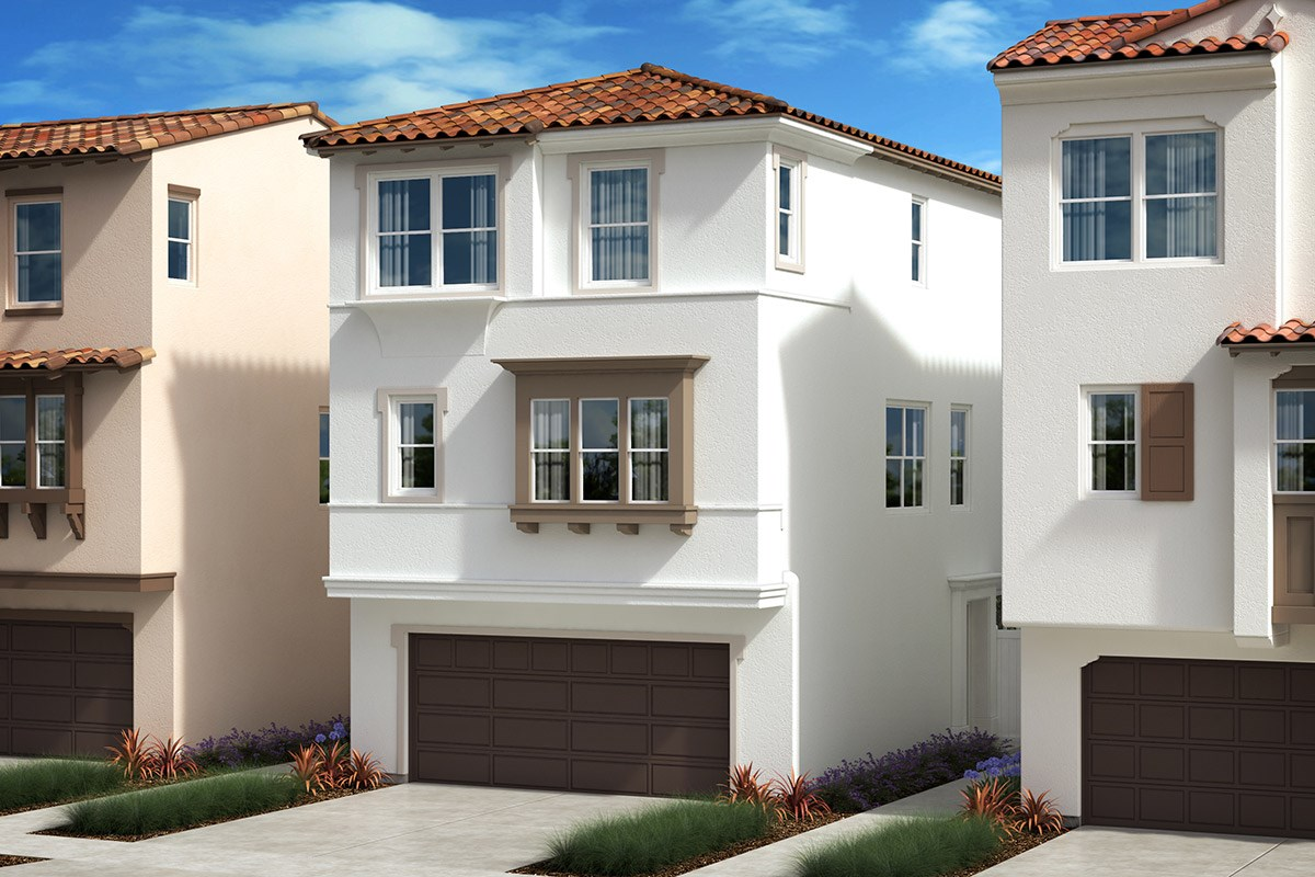 New Homes in Anaheim, CA - Euclid Place Residence 2X 'C'