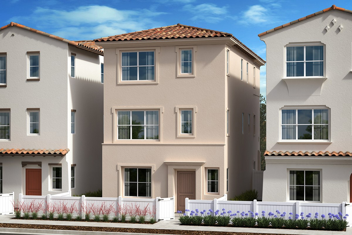 New Homes in Anaheim, CA - Euclid Place Residence 2 'C'