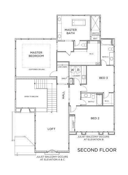 New Homes in Irvine, CA - Residence Two, Second Floor