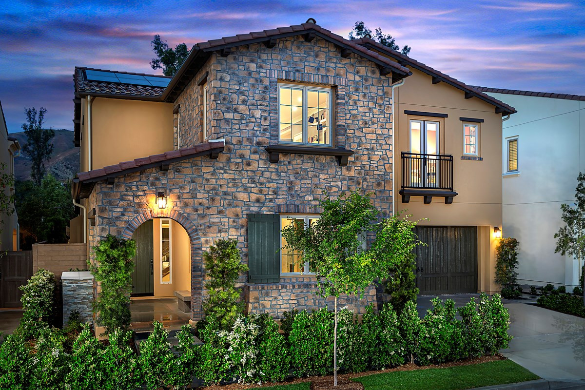 New Homes in Irvine, CA - Genoa at Orchard Hills Residence Two
