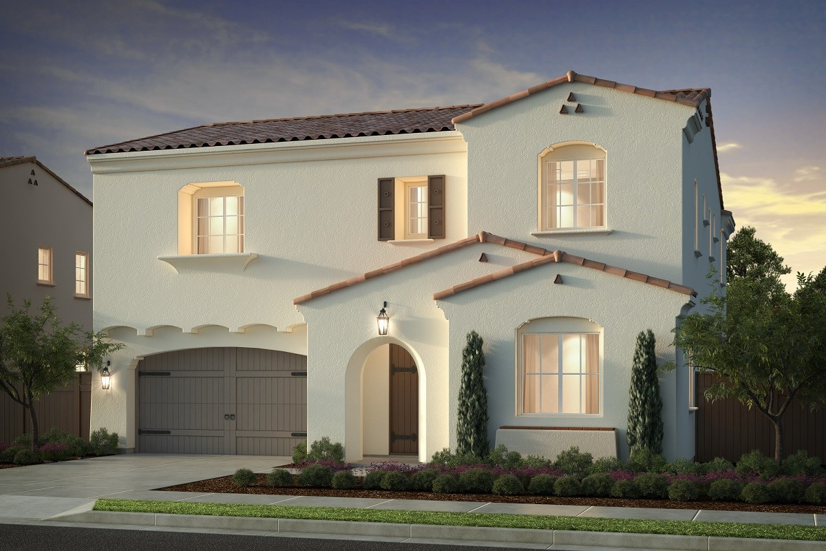 New Homes in Irvine, CA - Genoa at Orchard Hills Residence One - Elevation A