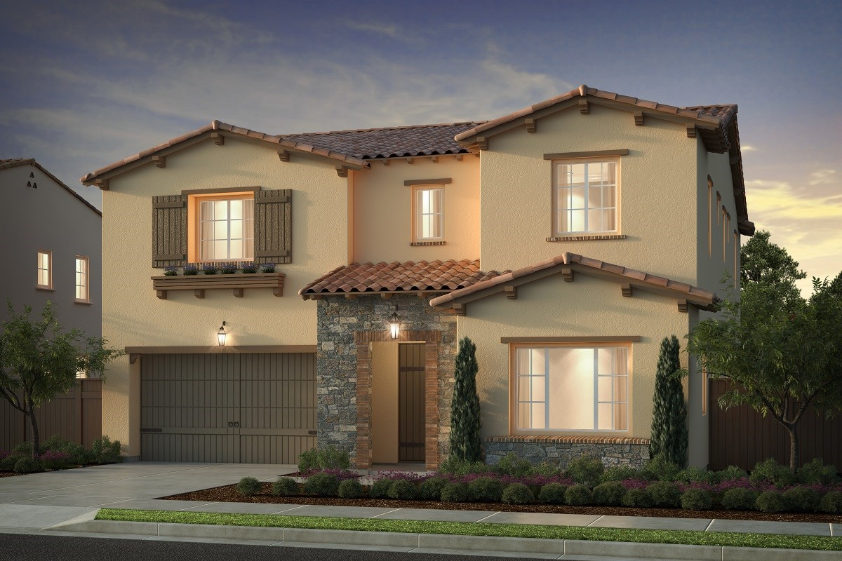 New Homes in Irvine, CA - Genoa at Orchard Hills Residence One - Elevation B