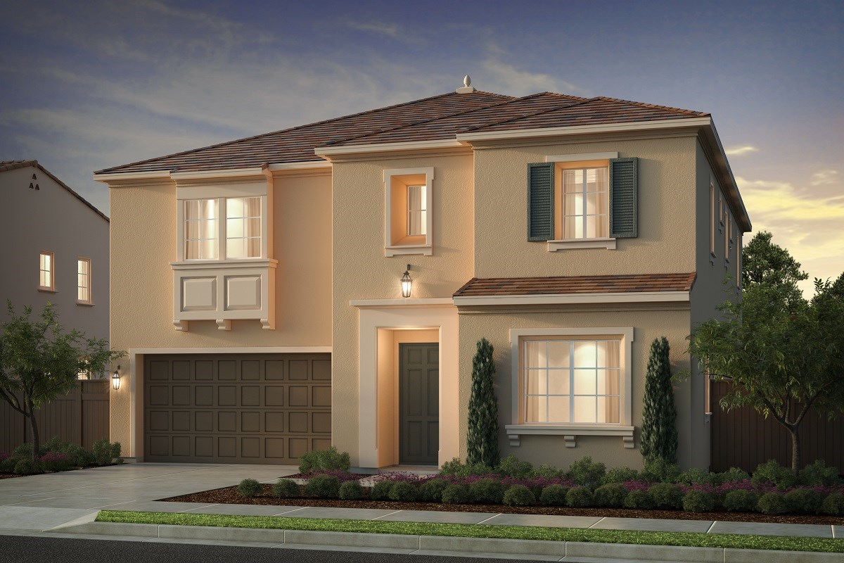 New Homes in Irvine, CA - Genoa at Orchard Hills Residence One - Elevation C