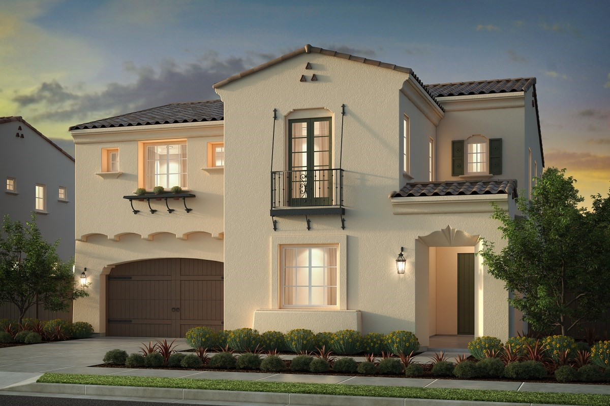 New Homes in Irvine, CA - Genoa at Orchard Hills Residence Two - Elevation A