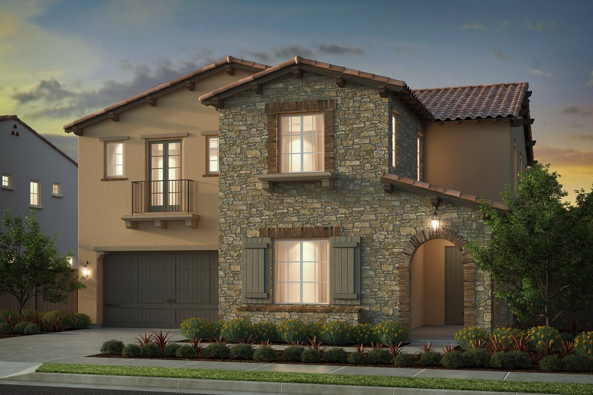 New Homes in Irvine, CA - Genoa at Orchard Hills Residence Two - Elevation B