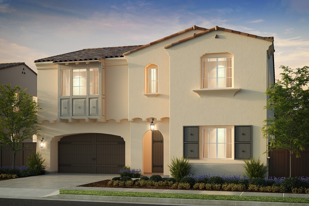 New Homes in Irvine, CA - Genoa at Orchard Hills Residence Three - Elevation A