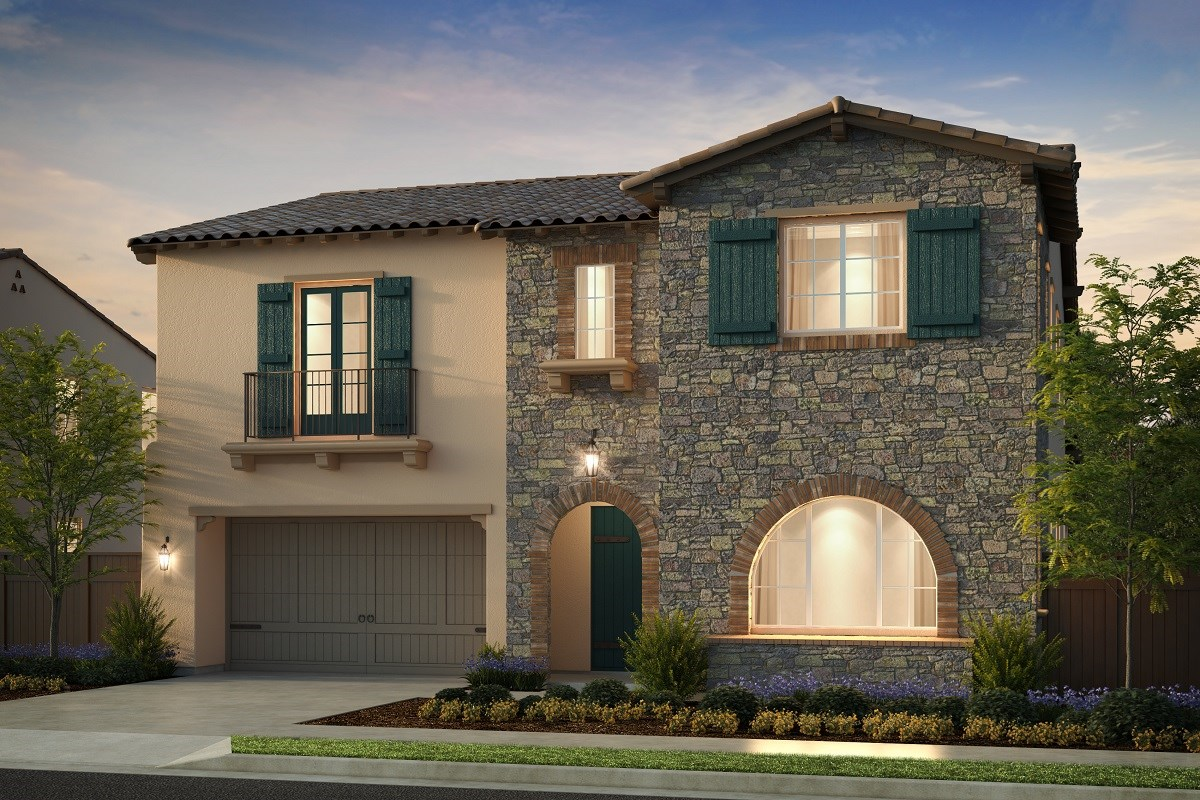 New Homes in Irvine, CA - Genoa at Orchard Hills Residence Three - Elevation B