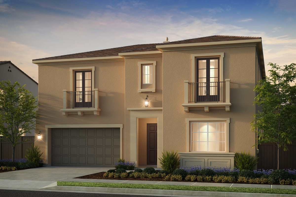 New Homes in Irvine, CA - Genoa at Orchard Hills Residence Three - Elevation C