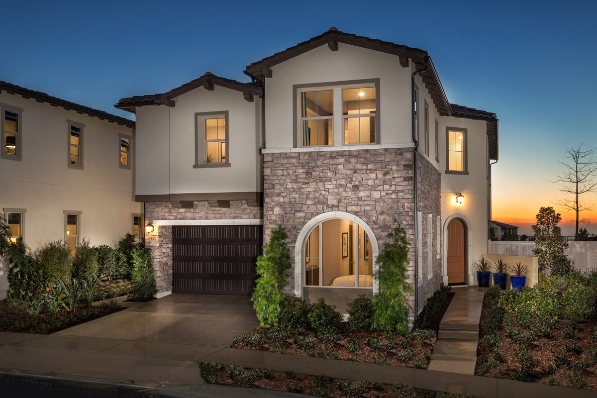 New Homes in Lake Forest, CA - Highmark at Ironridge Residence Three Exterior